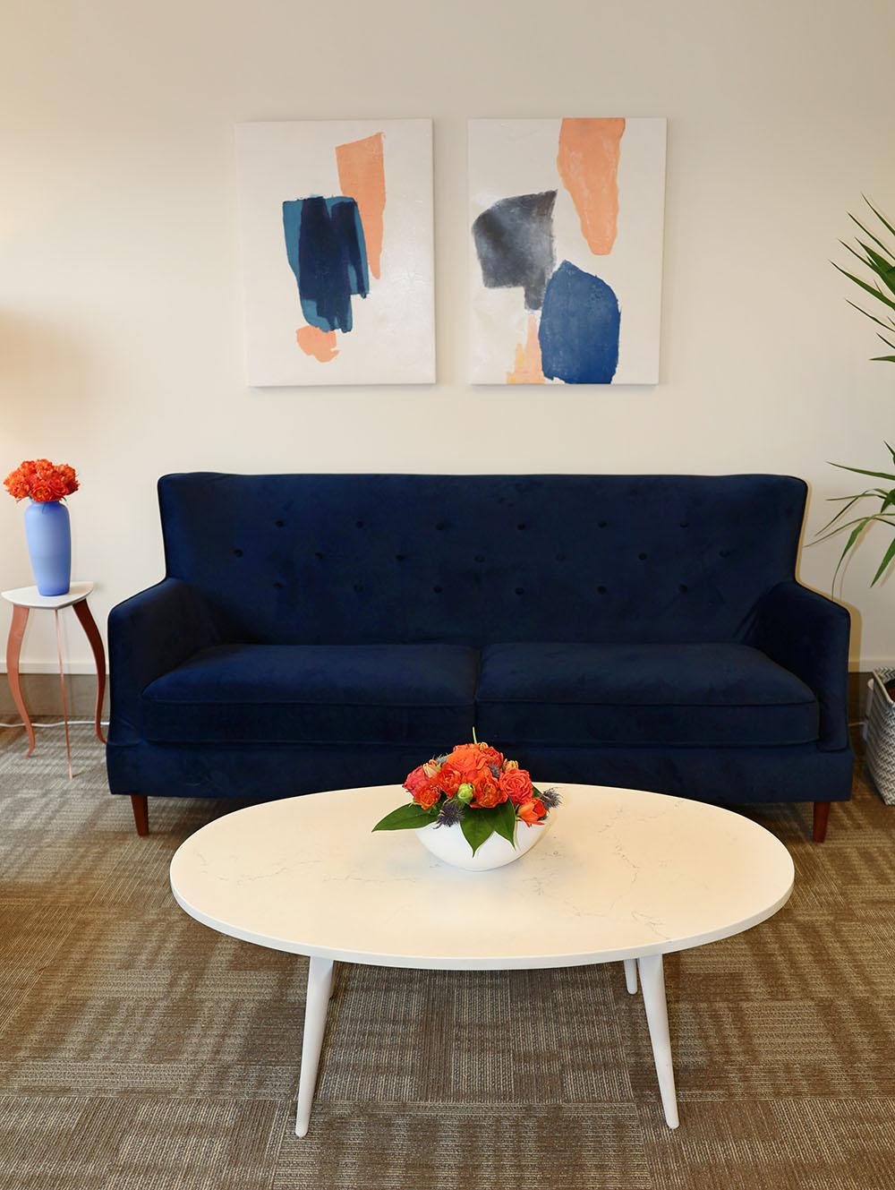 Interior Office Sofa